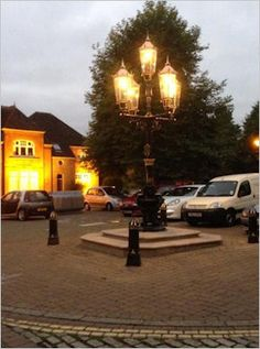 Ringwood Town Council approached many companies and JW UK LTD won the job to undertake the refurbishment of the Jubilee water fountain/Lighting column in the market square. We completely stripped the column using water, and brought it back to life, including the refurbishment and polishing of the lanterns, to include new glazing, parts in bronze and copper and new light source in LED lamps as required by the council.