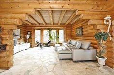 log-cabins:    Check out the archway!