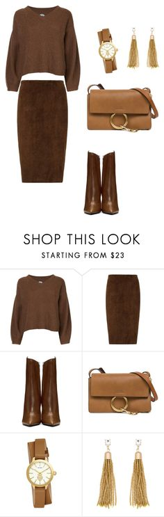 """""""Autumn mood"""" by anna-cherepanina on Polyvore featuring мода, Anrealage, STOULS, Yves Saint Laurent, Chloé, Tory Burch и Eloquii"""