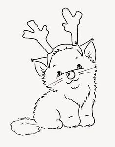 Sliekje digi Stamps: Christmas cats
