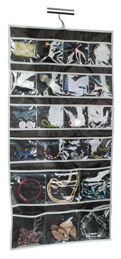 Hanging Jewellery Organiser Black