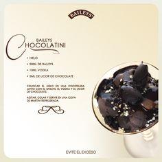 Baileys Chocolatini #recipes #drinks