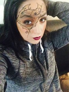Maquillage soir / costumer / esthétique / Camille / makeup party