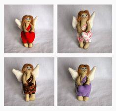Рукоделие и повседневности Лаутен Валерии: Ангелочки ко дню Святого Валентина