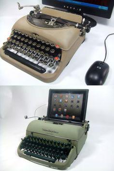 USB Typewriter by Jack Zylkin