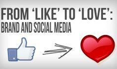 like or love social media