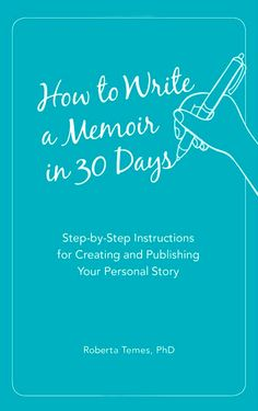How to Write Your Memoir in 30 Days is a great book to help you write your life's story using daily prompts, questions to ponder, and issues to consider.