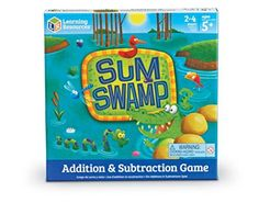 Sum Swamp - One of the best Math Board Games for adding and subtracting