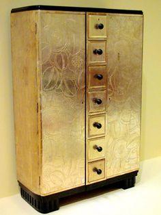 Art Deco Cabinet. Serge Chermayeff, ca 1930 | Flickr - Photo Sharing!