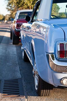 Ford Mustang enthusiast, I'll mostly post Old School Mustangs. Feel free to submit your photos of your Ford Mustang, no matter what. Mustang 65, Blue Mustang, My Dream Car, Dream Cars, Classic Mustang, Mustang Convertible, Ford Motor Company, American Muscle Cars, Hot Cars