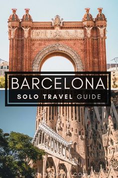 Solo Barcelona travel guide and itinerary: Looking to go to Barcelona spain on your own? here are tips and things to know before your first visit!