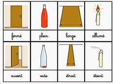 Crapouillotage: Cartes de Nomenclatures : Les Contraires