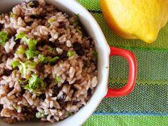 Arroz de feijão preto com pimentos ~ Cozinha Divinal