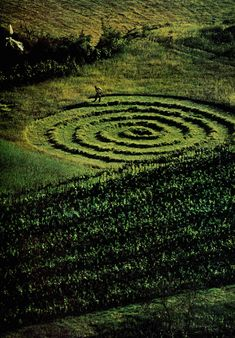 """the Labyrinth (Greek λαβύρινθος labyrinthos,)  unicursal, square oblongated, garden mazes historically used for meditation or ritual , zig zagging life patterns  ..Theseus was aided by friend Ariadne, who provided him with a skein of thread, literally the """"clew"""", or """"clue"""", so he could find his way out again....if you need it to find your way ..please..it is my offering to you."""
