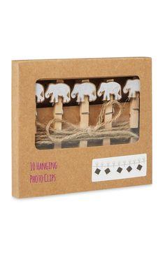 Primark - Elephant Tribal Photo Clips