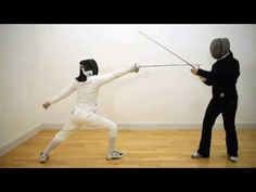 Coaching Epee Level One 06 Circular parry sixte with riposte Fencing Sword, Hanging Swing Chair, Self Defense, Martial Arts, Olympics, Fence, Coaching, Poses, Youtube