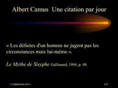 Albert Camus (1913-1960) n° 310