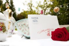 Alice im Wunderland Hochzeit - Alice in Wonderland Wedding Einladung von im Hochzeitsfieber, Andrea Stähr und Fotomania Kassel