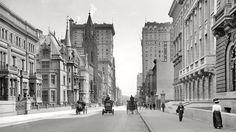 Fifth avenue .New York.