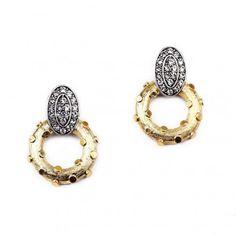 """Lulu Frost """"Lunar"""" statement earrings - Covet Chic"""
