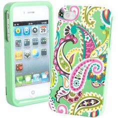 Gorgeous green Vera Bradley iPhone case!