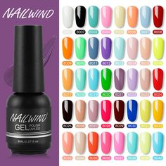 Nailwind Gel Nail Polish Varnishes Pure Color Semi Permanent Base top Need UV LED lamp Manicure Paint Hybrid nails gel polish|Nail Gel| - AliExpress Best Makeup Tips, Best Makeup Products, Pure Products, Gel Nail Polish, Gel Nails, Makeup Tips For Brown Eyes, Polish Models, Gel Designs, Manicure At Home
