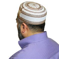 6b67ccb5fb37e 65 Best Islamic Kufi Hats for Men images