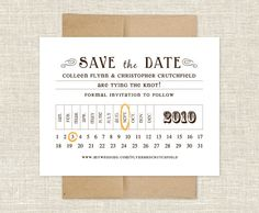 Celtic Knot Wedding Invitation | Save the Date | Destination ...