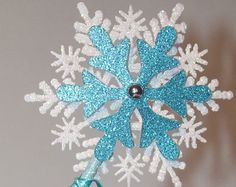Frozen wand, Elsa inspired wand,Frozen inspired Party  Wand,Princess wand, Party Favor Centerpiece Table Decoration, set of 6 princess wands