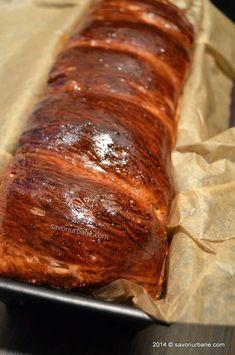 Cozonac simplu reteta de baza | Savori Urbane Strudel, Loaf Cake, Dough Recipe, Sweet Bread, Pork, Meat, Desserts, Sweets, Bakery Business