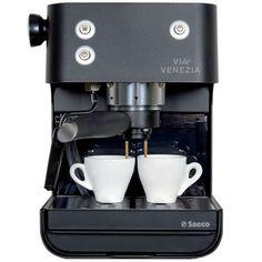 saeco aroma inox espresso and cappuccino machine