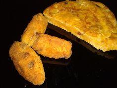 Tortilla de Patatas en Croqueta   Cocinar en casa es facilisimo.com