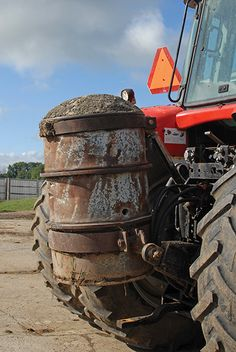 tractor weight