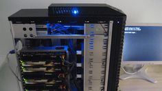 the SuperComputer. like woah. #rothzroom