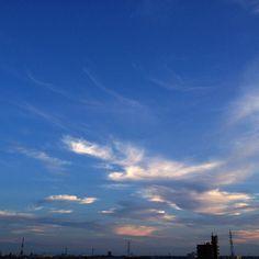 なかなかいい空だった - @mattyinstagram- #webstagram