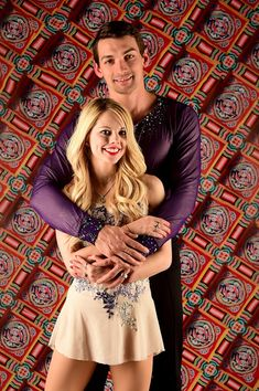 Alexa Scimeca Knierim and Chris Knierim pose for a portrait during the Team USA PyeongChang 2018 Winter Olympics portraits on April 28, 2017 in West Hollywood, California.