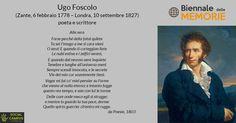 #Accaddeoggi Il 10 settembre 1827 moriva il poeta neoclassico e romantico Ugo…