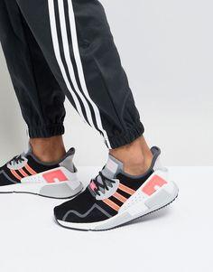 online store d4cad 96e24 adidas Originals EQT Cushion ADV Sneakers In Black AH2231