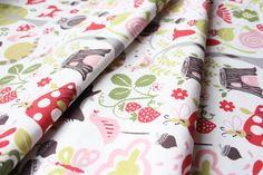 Monaluna fox hollow Wonderland Pink patchwork quilt