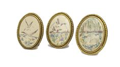 ON SALE 15%OFF 3 Antique Embroidery Gold by LeBonheurDuJour