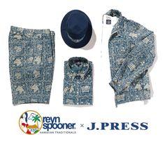 reynspooner × J.PRESS