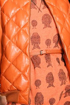 Mulberry Details #tangerine