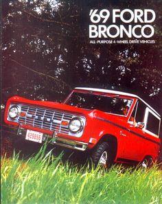1969 bronco brochure