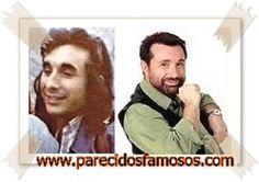 Parecidos con famosos: José Manuel Parada antes y después
