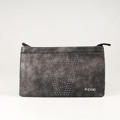 Elegantná listová kabelka v intenzívnej sivej farbe. Bags, Fashion, Colors, Handbags, Moda, Fashion Styles, Taschen, Fasion, Purse