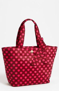 Back to school ready. kate spade new york apple tote.