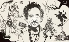 The misfit visions of Tim Burton