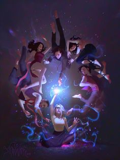 Drawing Step By Step ArtStation - The Magicians Fan Art , Pauline Voß - Magician Art, The Magicians Syfy, Illustration Photo, Fanart, 3d Drawings, Wow Art, Step By Step Drawing, Character Design Inspiration, Oeuvre D'art