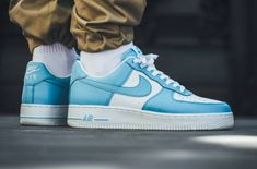 san francisco f52db 20bb5 Look For The Nike Air Force 1 Low Blue Gale Now