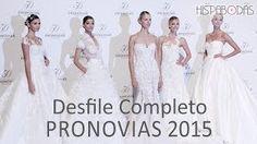 Pronovias pasarela de vestidos de novia 2015... La firma catalana presenta en su 50 aniversario una colección compuesta por vestidos de novia ...